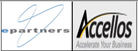 ePartners and Accellos logos
