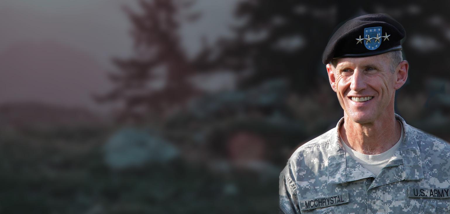General (RET) Stanley McChrystal