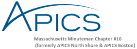 APICS Massachusetts Minuteman Chapter #10 logo