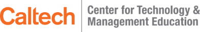 Caltech Center for Technology and Management Education logo